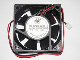 Wholesale S H B C SHBC0612HB V A Wire Cooling Fan