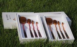 Wholesale Best pro4 Makeup Brushes Toothbrush Oval makeup Brush Foundation Powder Kit Golf Shape Pipe Makeup Brushes Set set