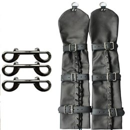 Sex Bondage Arm Harnesses Armbinder Fetish Hand Restraint Double Over Elbow Long Gloves Sex Toy Submission Training