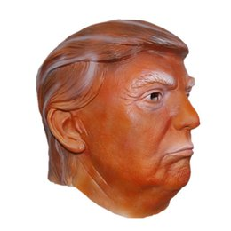 Wholesale Latex Mask Of New President Competitor Donald Trump American Election Candidates The Real Estate Magnate Trump s Same Latex Masks