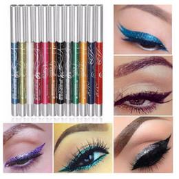 12 Colors Eyeliner DHL Free Shipping Auto-Rotate Ultra Bright Eyeshadow Lip Liner Eyeliner Pen Makeup Kit Eyes Eyeliner Pen 1b