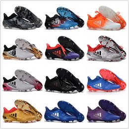 Wholesale Cheap Adidas X Purechaos FG AG Football Shoes Men Soccer Cleats Colors Fashion Soccer Shoes Discount Soccer Boots Size