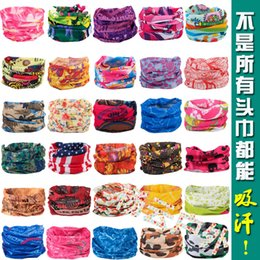 Wholesale 2016 women headband Outdoor seamless magic sunscreen ride magicaf hip hop anti uv multifunctional bandanas buff super absorbing
