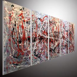 Wholesale original abstract wall art home office decor modern art wall original abstract painting wall art oil painting on aluminum wall art