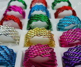 Fashion Wholesale Unisex Mix Color Enamel Multicolor iron Alloy Rings For Women Jewelry Pack Lots LR262 Free shipping