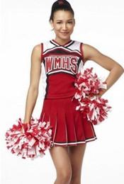 2016 футбол одежда Оптово-сексуальный футбол младенца Cheerleader костюмы косплей Хэллоуин костюмы игра униформа школы носить платье экзотическое одеяние S-XXL HA24 футбол одежда на продажу