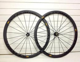 Wholesale powerway R36 carbon hub NEW Mavic cosmic wheels C mm full carbon road bike wheels rim bicycle wheelset k UD twill weave
