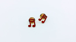 20pcs fashion music symbol, brooch accessories, provide production.Used for cowboy clothing, hats and other decorative brooches