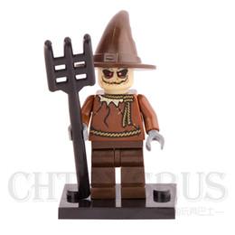 Wholesale Batman villain The Scarecrow Crane Suicide Squad Super Heroes Minifigures Assemble Building Blocks Kids Learning Toys Gifts