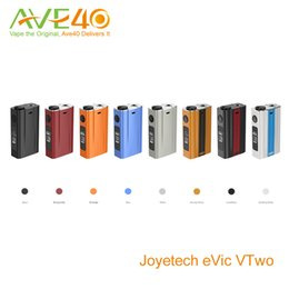 Wholesale Joyetech Evic VTwo Box Mod Newest Joyetech Update Evic VT update the new function to play game VS Smoant w Knight v1