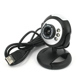 Wholesale 8 Mega USB2 PC Laptop Notebook LED Night Vision Webcam Camera with Mic for Skype Netmeeting ICQ MSN Messenger Yahoo Messenger