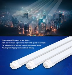 Wholesale Promotion t8 led tube light mm w w ft smd led fluorescent tube v v FEDEX
