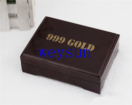 Wholesale Practical Artistic Gold Foil Plated Poker Playing Card Wooden Box Case For Present Gift