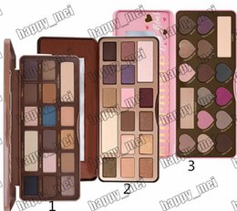Wholesale Factory Direct DHL New Makeup Eyes Chocolate Eyeshadow Palette Colors Eye Shadow Different Colors