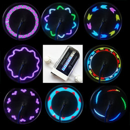 Wholesale Bike Accessories Led Bicycle Wheel Spoke Light Tire LED Patterns Lamp Cycle Hot Wheels Flash Light Lighting