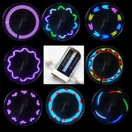 Wholesale Bike Accessories Led Bicycle Wheel Spoke Light Tire LED Patterns Lamp Cycle Hot Wheels Flash Light Lighting