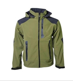 Wholesale HOT Mens Windstopper Waterproof Apex Bionic Fleece Softshell Jacket Brand New fashion outdoor coat Can Mix S XXL
