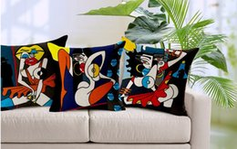 Black big red skirt ass woman pop style emoji pillow massager decorative pillows home decor home popular culture