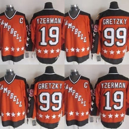 Hot Sale Mens Detroit Red Wings 19 Steve Yzerman 2015 All Star Campbell Best Quality Ice Hockey Jerseys Accept Mix Order Size S-3XL