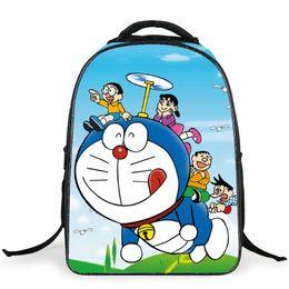 Cartoon Kids Bags Children Backpack Doraemon Boy Schoolbag Children Quality School Student Backpack For Girls 3D Printing