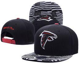 Wholesale Discount Football Atlanta Snapbacks hats Falcons Caps Brand Sports Team Hats Draft Highly Snapback men women Caps Sporting Hats Cotton Cap