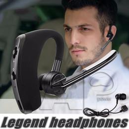 Écouteur Bluetooth Casque intra-auriculaire V8 Casque mains libres sans fil Écouteurs Bluetooth 4.0 Legend Stéréo pour Iphone 6 Plus avec forfait de vente au détail à partir de mains libres universel fournisseurs
