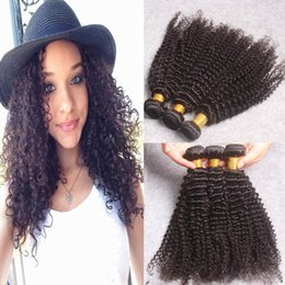 7A Grade Virgin Brazilian Deep Curly Hair Wefts 3Pcs Lot Curly Hair Weave Bundles Double Wefts Brazilian Virgin Remy Hair Extensions
