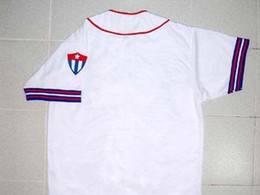 30 Teams- HAVANA CUBANS BUTTON-DOWN RETRO BASEBALL JERSEY CUBA XS-6XL Mens Embroidery HAVANA CUBANS Baseball Jerseys Top Quality