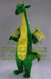 Big Green Fantasy Costume Mascotte Dragon à faible coût des personnages de bande dessinée Costumes Performance Publicité pour le Carnaval de fête SW765 cheap advertising costs à partir de les frais de publicité fournisseurs