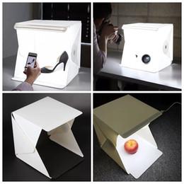 Wholesale Light Room Photo Studio quot Photography Lighting Tent Kit Backdrop Cube Mini Box DHL