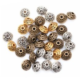 Wholesale 3 Colors Mixed Tibetan Silver Spacer Beads Fashion DIY Beads For Jewelry Making Bracelet