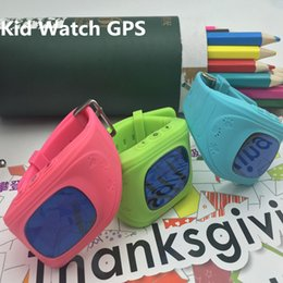 Wholesale Cheap child kid gps tracker watch smart wear gps phone watch with free software SOS one key calling