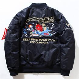 Wholesale Mens MA1 Bomber Jackets Air Force Embroidery Pilot Insignia USAF Kanye West Unisex Hip Hop Sport Male Windbreaker Baseball Tactical Coats