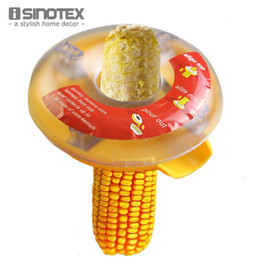Wholesale Kitchen Necessary Helper Easy Peel One Step Corn Kerneler Stripper Peeler Remove Corn Separator