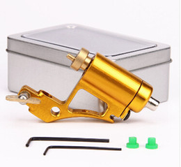 Wholesale Professional Rotary Tattoo Machine Aluminium Alloy CNC Tattoo Frame Tattooing Gun for Shader Liner Fit Standard Needles Colors