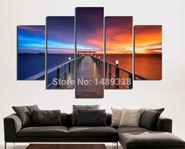 large digital photo frame en venta enmarcado 5 piezas moderno cuadro de lona de arte