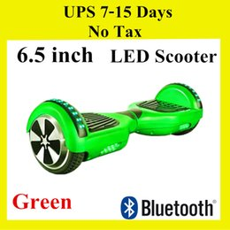 Hoverboard Bluetooth Speaker Smart LED Scooter Self Balance Wheel Electric 6.5 Inch Two Wheels Scooters Mini Skateboard Dropshipping
