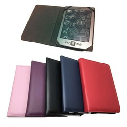 """Wholesale Kindle Paperwhite Pink - Wholesale-NEW PU Leather Folio Case Skin Cover With Non-magnet For Amazon ebook Kindle Paperwhite & Kindle 4 5 7 7th 6"""" eReader"""