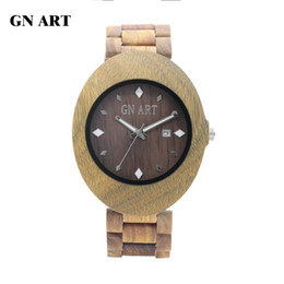 China Gnart Watch Factory OEM Natural Wooden Watches for Men