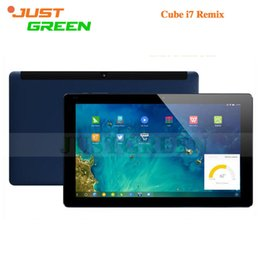 Wholesale 100 Original Cube I7 Remix Notebook inch Retina Z3735F Quad Core GB RAM GB ROM MP Camera GPS OTG HDMI Tablet
