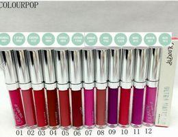 Wholesale 2016 NEW Makeup Colourpop Ultra Matte Liquid Lipstick Matte Lip Gloss 120pcs lot factory direct supply
