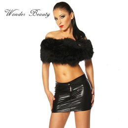 Very Scarce Miniskirt Wetlook Black Sexy Summer Faldas Faux Leather Black Saias skirts Mini Pencil Skirts W7952