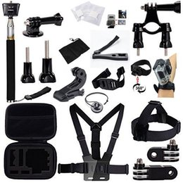 Wholesale US Stock in Head Chest Mount Floating Monopod Camping Outdoor Accessories Kit For GoPro Hero Camera