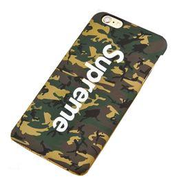 Wholesale Fashion Luminous Relief Phone Case Supreme Pattern Painted Phone Case Back For iPhone s quot Plus s Plus quot