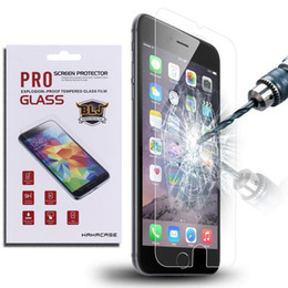 Wholesale Explosion Tempered Glass Screen Protector Protect Film Guard For iPhone Plus S S Samsung S5 S6 S7 Edge Note Retail Package
