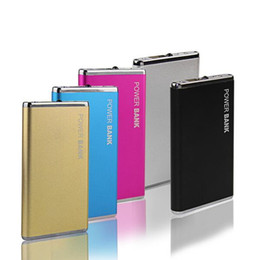 Wholesale DOSHIN New Power Bank mAh Portable Metal Case Li Polymer External Battery Charger Powerbank For All Phone