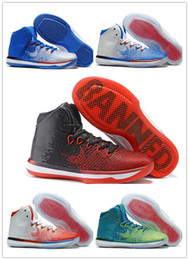 Wholesale With Box New Jumpman Air Retro XXXI Mens Basketball Shoes Sneakers Banned s white red black blue white Running shoes for sale man