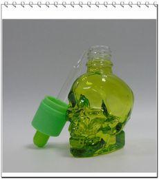 30 ml dropper bottle Green glass bottles liquid children helmet wholesale discount free shipping through DHL