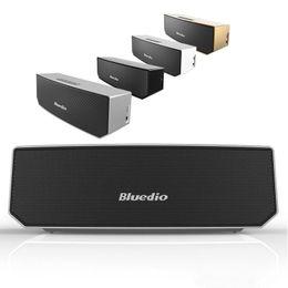 Wholesale Bluedio BS Hot Sale Portable Bluetooth Speaker Wireless Subwoofer Soundbar Revolution Magnetic Driver D Stereo Music
