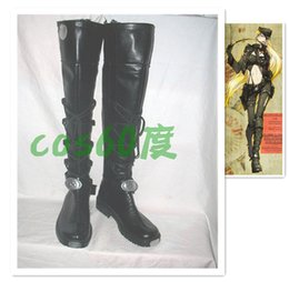 Wholesale APH Axis Powers Hetalia Germany Cosplay Boots shoes cos018 Halloween shoes